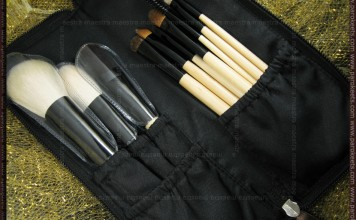 Review: BH Cosmetics - 10 pcs Deluxe Makeup Brush Set (wood color)