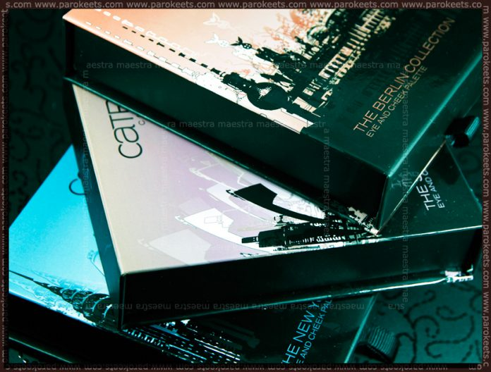 Catrice - Big City Life LE (make up palettes)
