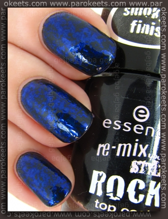 Catrice Alluring Night + Inglot 204 + Essence We Will Rock You