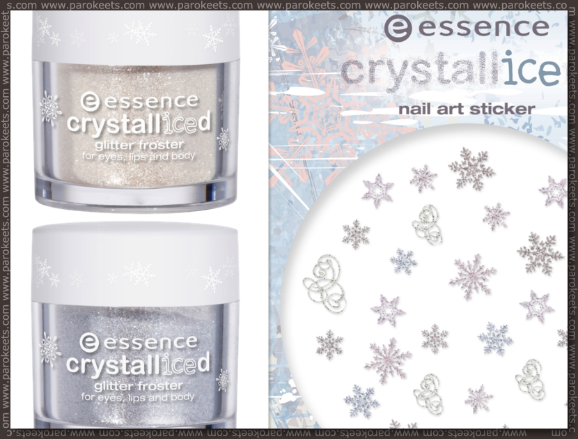 Preview: Essence Crystalliced trend edition Glitter Froster, nail sticker