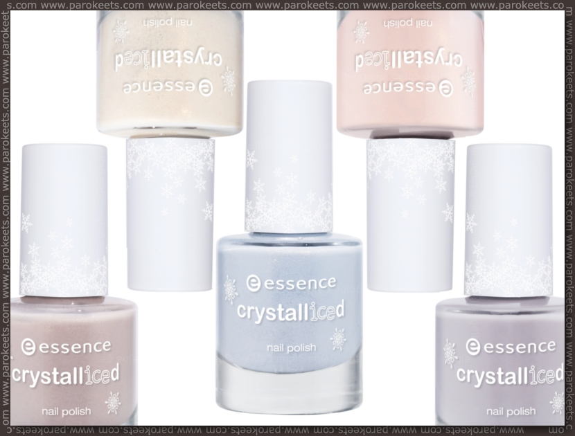 Preview: Essence Crystalliced trend edition nail polishes