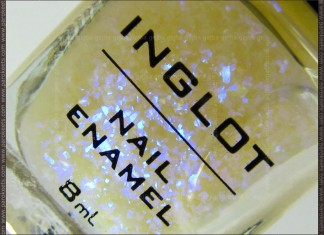 Inglot 204 nail polish bottle