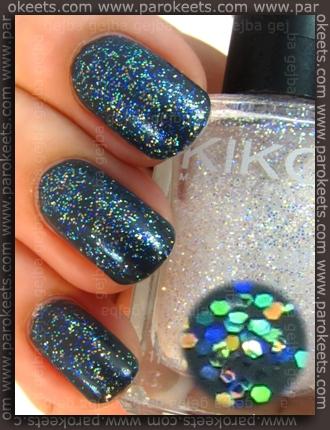 Kiko 326 + 230 nail polish