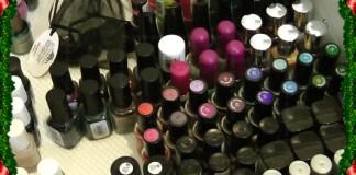 Nail polish collection/stash by Gejba Parokeets
