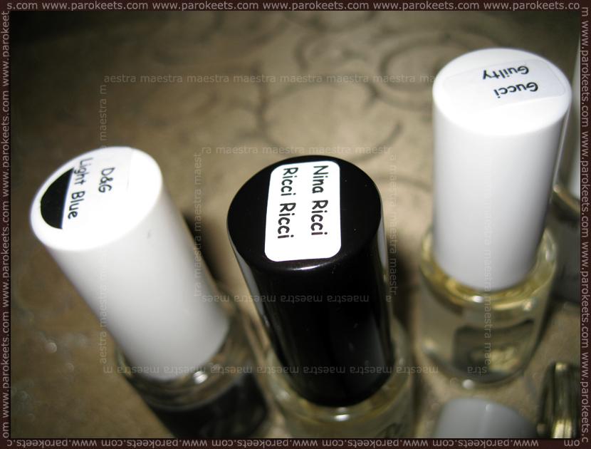 Refan Fragrances - list of perfumes