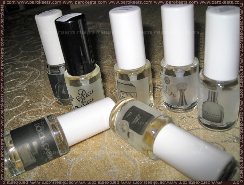 Refan Fragrances - list of perfumes