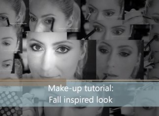 Tutorial Fall Autumn Inspired Make-up Look