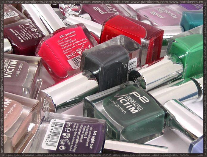 p2 nail polishes