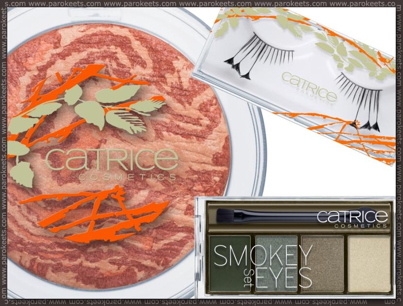 Preview: Catrice Nymphelia LE blush, eyelashes, smokey set