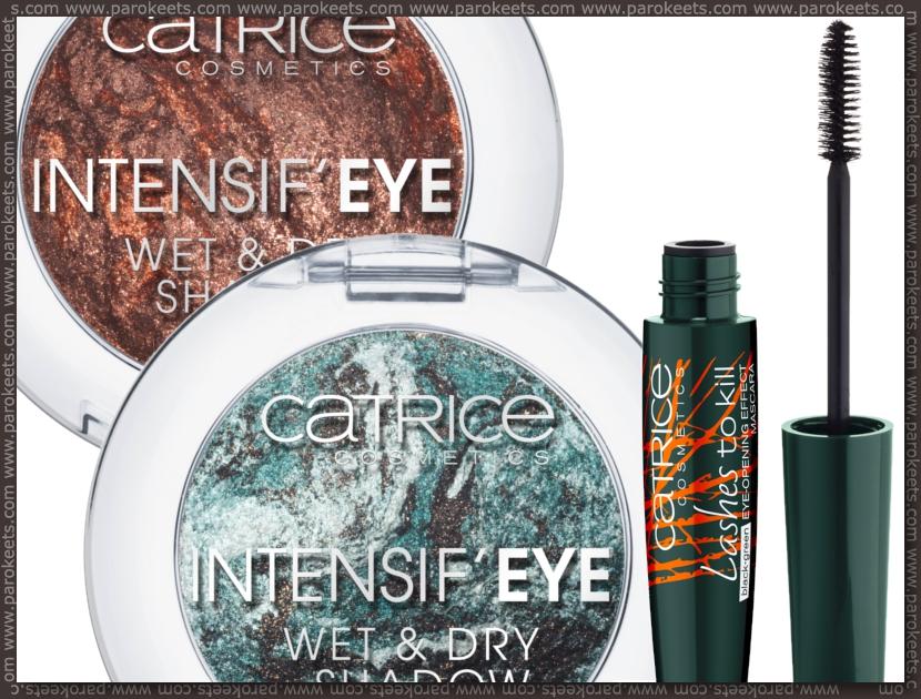 Preview: Catrice Nymphelia LE eyeshadow, mascara