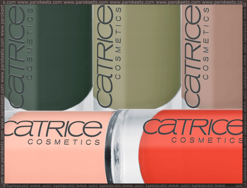 Preview: Catrice Nymphelia LE nail polishes
