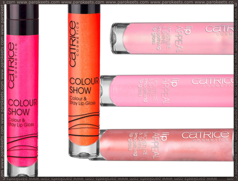 Catrice assortment change spring 2012 lipglosses