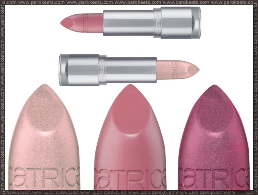 Catrice assortment change spring 2012 lipsticks: Ultimate Shine