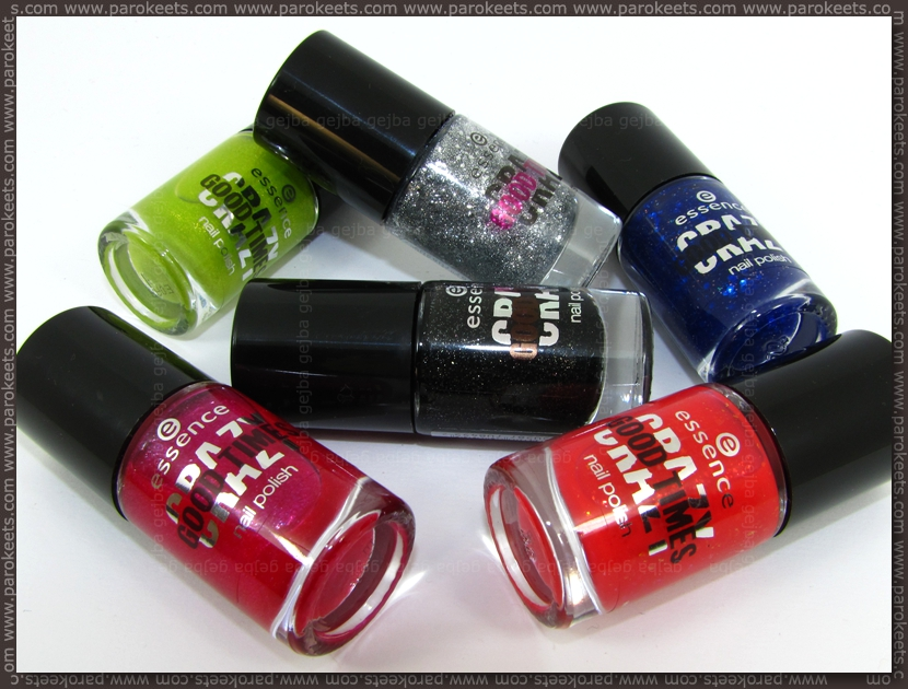 Essence Crazy Good Times nail polishes