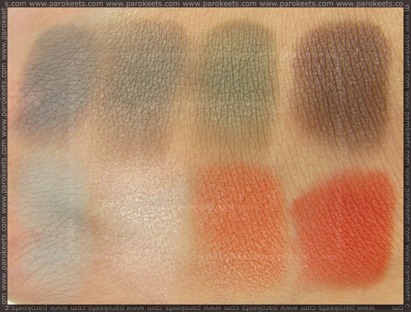 Essence Legends Of The Sky TE - From Zero To Hero eyeshadow palette swatch