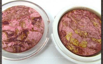 Flormar Terracotta Blush On 45 vs. Golden Rose Terracotta Stardust 01