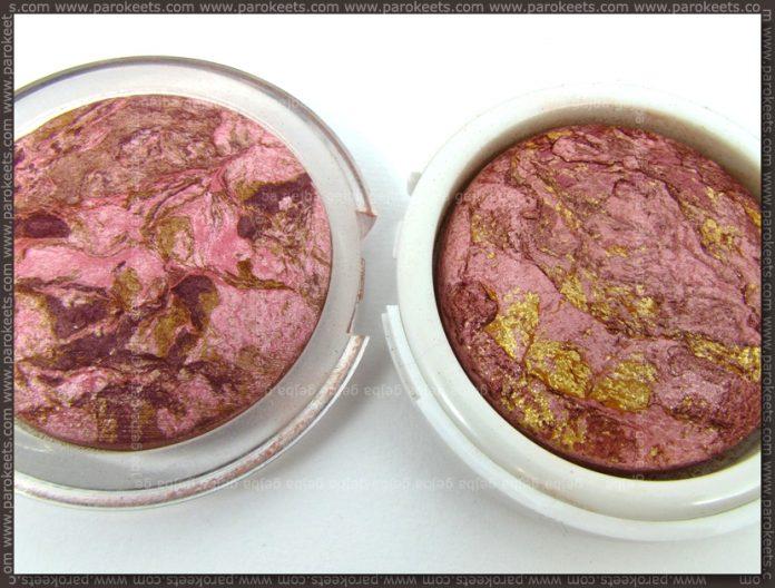Flormar Terracotta Blush On 45 vs. Golden Rose Terracotta Stardust 01