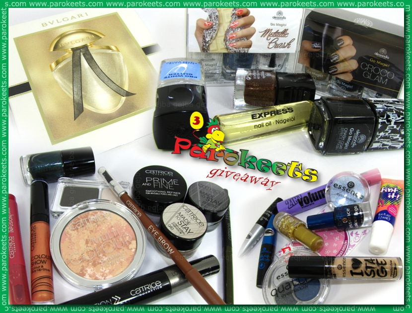 Parokeets blog - 3rd birthday giveaway