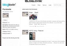 Parokeets blog RSS - Bloglovin