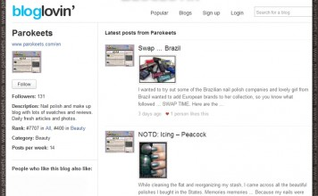 Parokeets blog RSS - Bloglovin