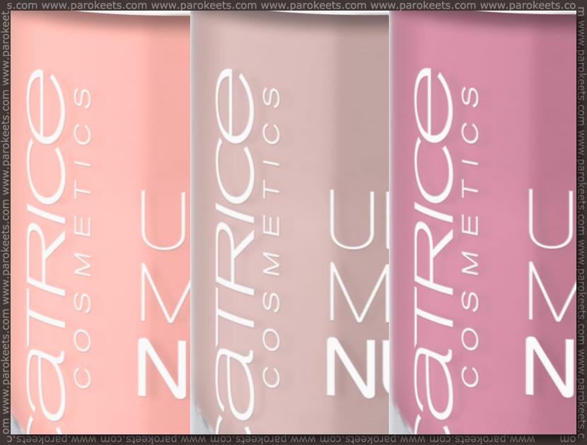 Catrice assortment change spring 2012 nail polish: 070, 080, 090