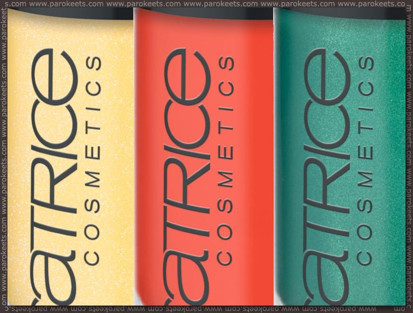 Catrice assortment change spring 2012 nail polish: 700, 690, 740