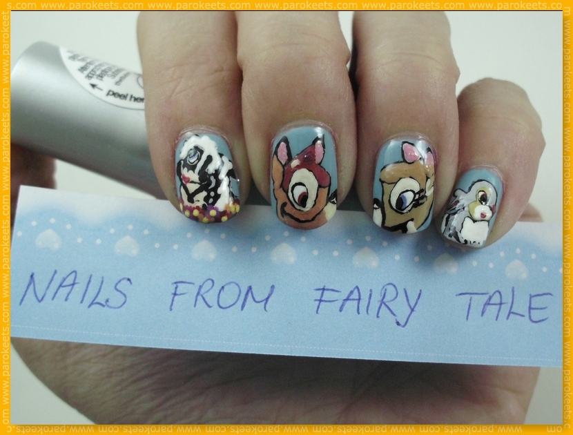 Bambi - Nails From Fairy Tale