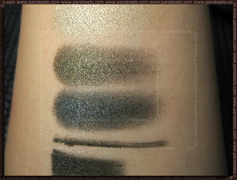 sWATCH: Catrice Nymphelia: Smokey Eyes Set - Love, Peas & Harmony