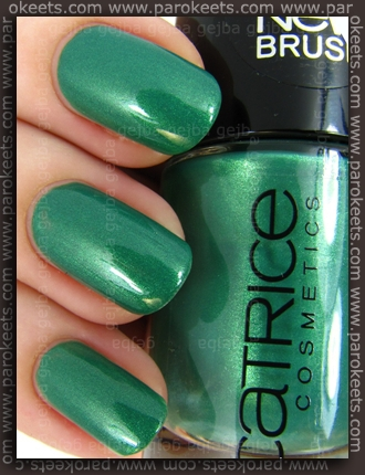 Catrice King Of Greens (swatch)