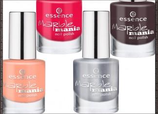 Essence Marble Mania nail polishes