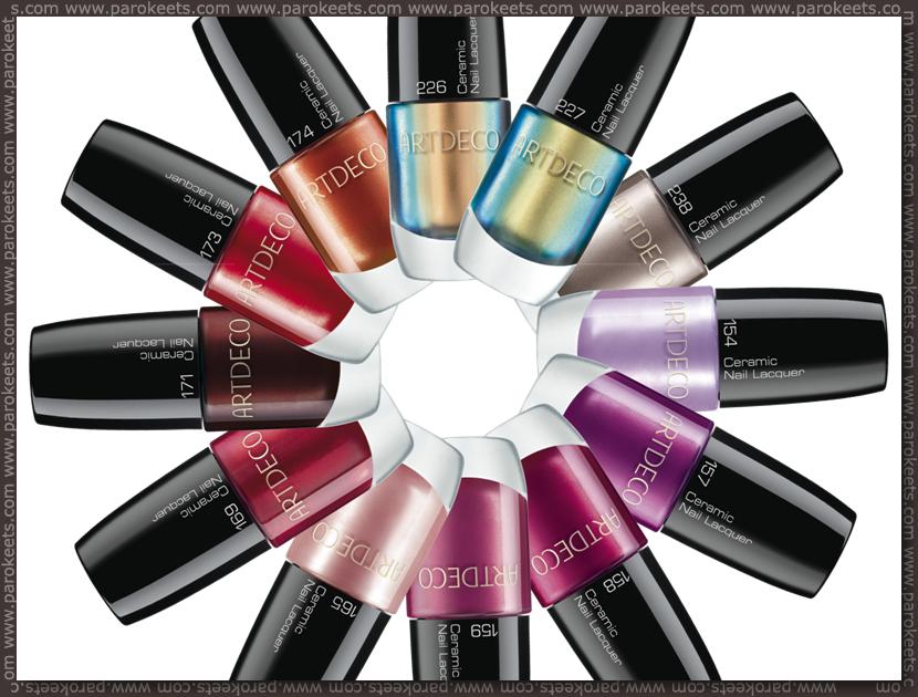 ArtDeco Magic Shine nail polishes preview