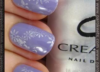 Avon Loving Lavender, CND Eskimo Kiss, fauxnad H3 and A05 IP konadicure