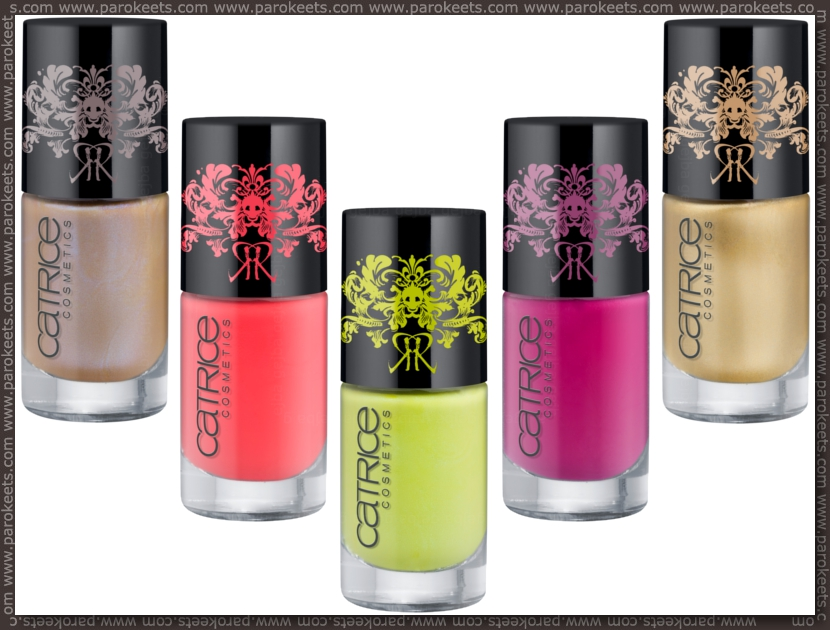 Catrice Revoltair nail polishes preview
