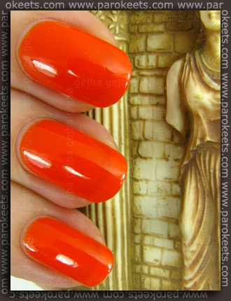 Collistar Capri LE - Papaya nail polish