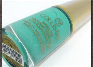 Collistar Capri LE - MintMilk nail polish bottle
