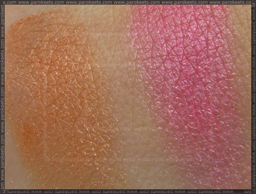 Collistar Capri LE blush swatches