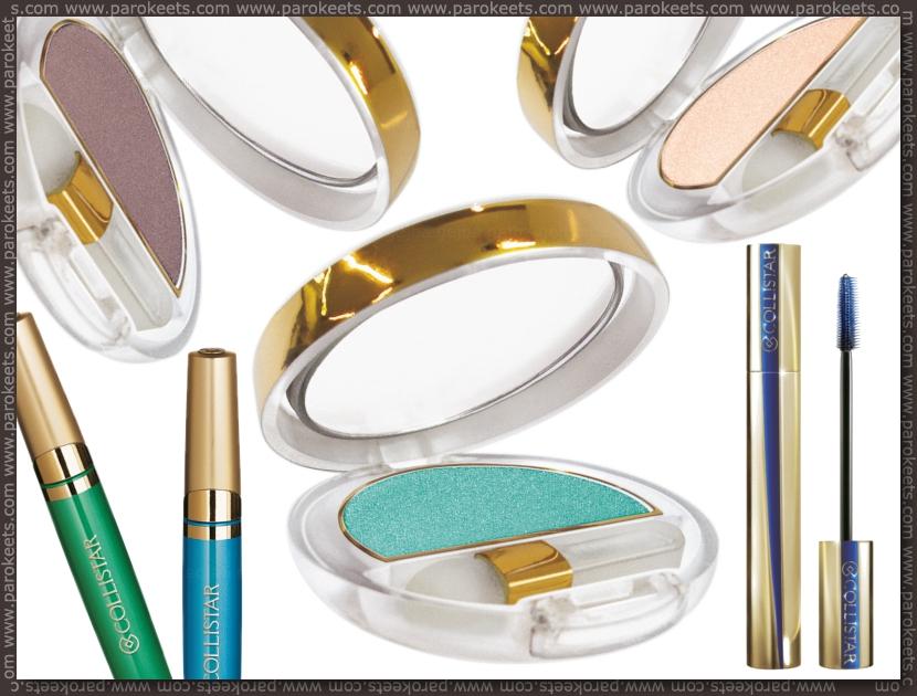 Collistar Capri LE - eyeshadows, eyeliners, mascara preview