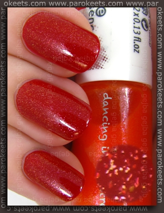 Essence Colour3 - Kiss On Top Of The Rock nail polish