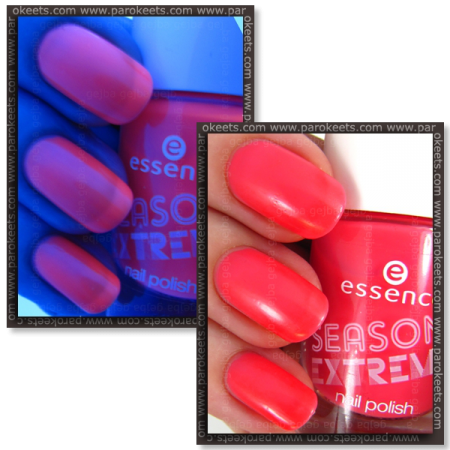 Essence Season Of Extremes: Bright Alert! neon nail polish