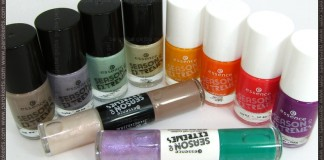 Essence Season of Extremes TE nail polishes
