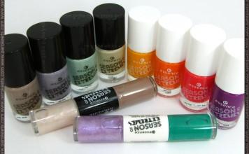 Essence Season of Extremes TE nail polishes