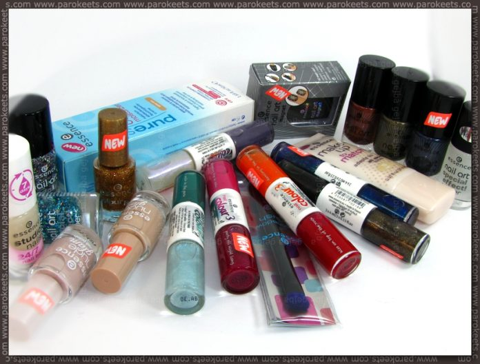 Essence Spring 2012 assortment change haul
