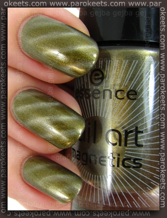 Essence Wish List Secrets magnetic nail polish