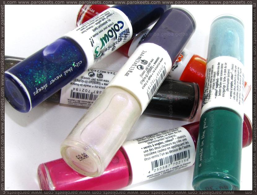Essence Colour3 nail polish duos (new)