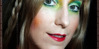 Illamasqua Human Fundamentalism inspired make-up look by Maestra
