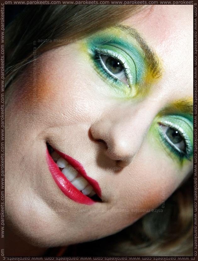 Illamasqua Human Fundamentalism inspired make-up look by Maestra