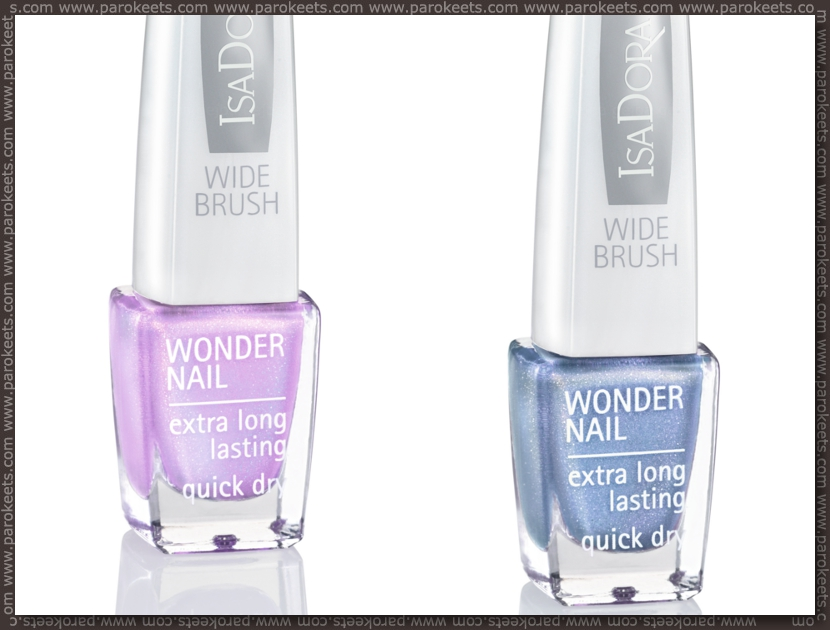 Isadora Pearls Of Passion nail polishes preview