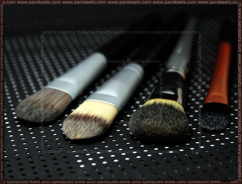Review: Body & Soul - Foundation Brush, Konad - Foundation Brush, Sephora - Professionnel Airbrush Precision Foundation Brush #56