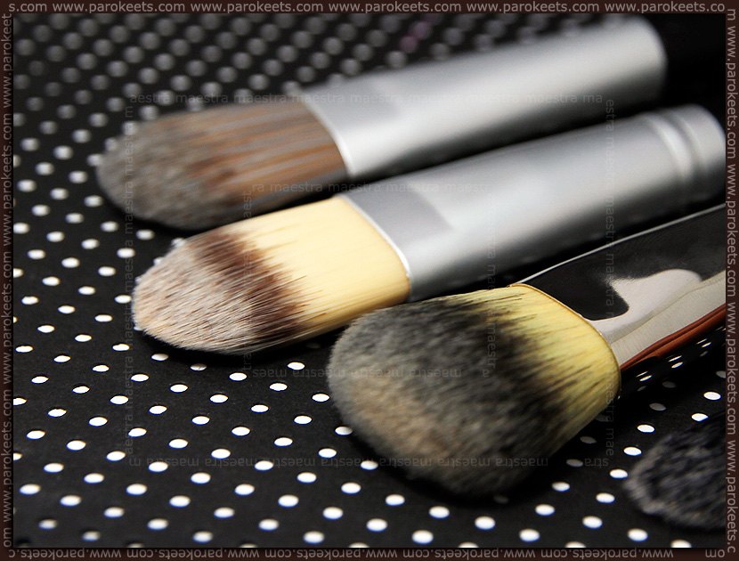 Review: Body & Soul - Foundation Brush, Konad - Foundation Brush, Sephora - Professionnel Airbrush Precision Foundation Brush #56