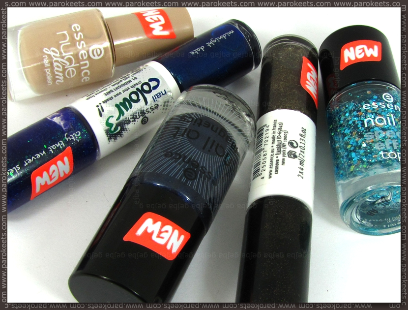 Parokeets giveaway: Essence spring 2012 new nail polishes